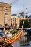 St Katharine Docks London UK Royaltyfri Foto