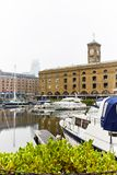 St Katharine Docks in London Royalty Free Stock Images