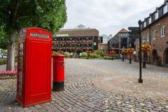 St Katharine Dok. Londen, Engeland Stock Foto