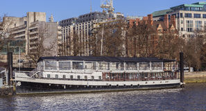 St Katharine Restaurant Ship Foto de Stock