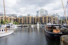 St Katharine's Dock Stock Images