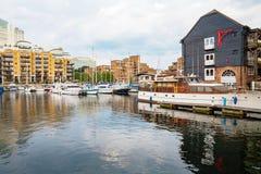 St Katharine's Dock. London, England Stock Images