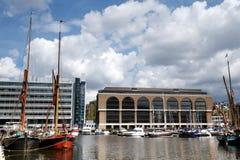 St Katherine Docks, Londen, het UK Royalty-vrije Stock Foto's