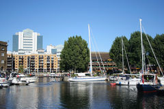 St Katherine's dock London Stock Photography
