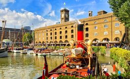 St Katherines Dock London Royalty Free Stock Image