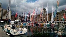 St Katherines dok, Londyn Obrazy Royalty Free