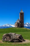 St. Kathrein, Hafling, South Tyrol. St. Kathrein chapel near Hafling, South Tyrol, Italy Royalty Free Stock Photography