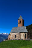 St Kathrein, Hafling, Tirol sul Fotos de Stock Royalty Free