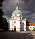 St Kazimierz Church stock photo