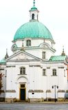 St. Kazimierz Church. Warsaw, Poland Stock Images