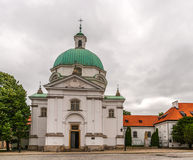 St. Kazimierz Church in Warsaw, Poland Royalty Free Stock Images
