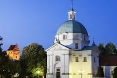 St. Kazimierz Church - Warsaw, Poland Stock Photo