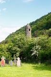 St. Kevin Kapel in Glendalough Royalty-vrije Stock Foto's