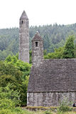St Kevin's Monastery, Glendalough, Ireland Royalty Free Stock Photography