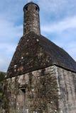 St. Kevin stone church. In Glendalough, Ireland stock image