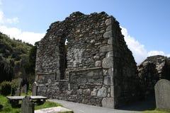 St Kevins al castello di Glendalough Fotografia Stock Libera da Diritti