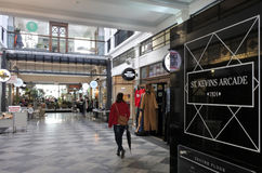 St Kevins Arcade Auckland New Zealand Royalty Free Stock Image