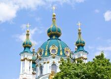 st kiev s церков Андрюа Стоковое Изображение