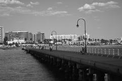 St Kilda码头墨尔本 库存照片