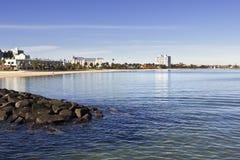 St Kilda beach Stock Photo