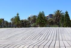 St Kilda Beach dans l'Australie de Melbourne Photo stock