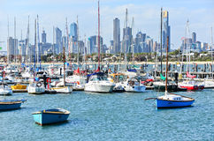 St Kilda Beach in Melbourne Stock Photo