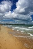 St Kilda Beach. In Melbourne, Australia. Pacific coast Royalty Free Stock Images