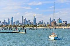 St Kilda Beach in Melbourne, Australia Stock Photography