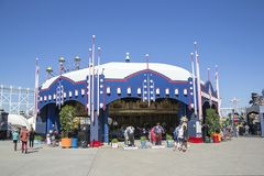 Luna Park - Melbourne stock image