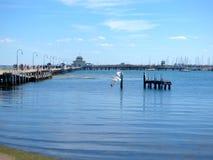 St Kilda molo Fotografia Royalty Free