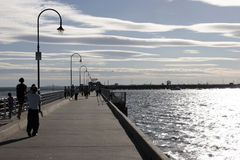 St Kilda Pier Royalty Free Stock Photo