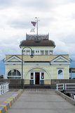 St Kilda Pier and Pavilion Royalty Free Stock Photos