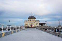 St Kilda Pier. Taken at St Kilda Beach, Victoria. Australia Stock Photos