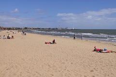 St. Kilda's Beach. Melbourne Stock Image