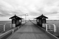 St. Kilda Wharf Stock Photo