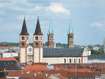 St Kilian's cathedral in Würzburg, Germany Stock Photography