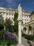 St Kinga på kyrkan för Belvà ¡ ros, Budapest, Ungern Royaltyfria Foton