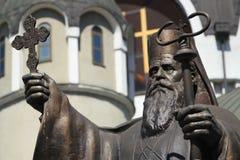 St. Kiril voor Macedonische Orthodoxe Kerk Stock Fotografie