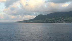 St Kitts in the Caribbean stock video
