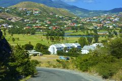 St Kitts, das caraíbas Imagens de Stock