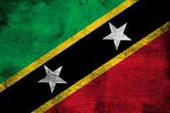 St. Kitts and Nevis διανυσματική απεικόνιση