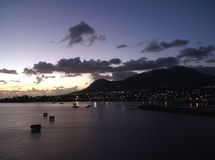 St. Kitts panorama Stock Photography