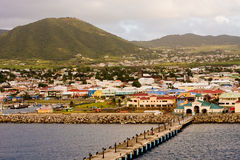 St Kitts Pier Royalty Free Stock Photography