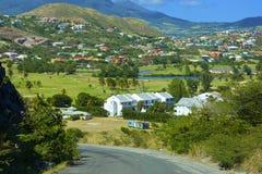 St Kitts som är karibisk Arkivbilder