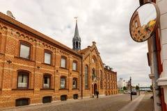 St Knud con lo specchio immagine stock libera da diritti