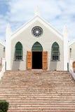 St Kościół Anglikański Peters, St George, Bermuda Zdjęcia Royalty Free