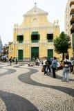 St. kościół Dominic, Macau fotografia royalty free