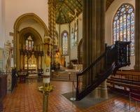 St.-Konfetti-Kathedrale Innenc Stockbilder