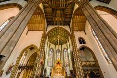 St.-Konfetti-Kathedralen-Innenchor-Decke Lizenzfreie Stockfotografie