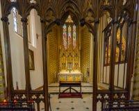 St.-Konfetti-Kathedralen-Innendame Chapel A Lizenzfreies Stockbild